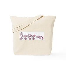 Faith-asl Tote Bag