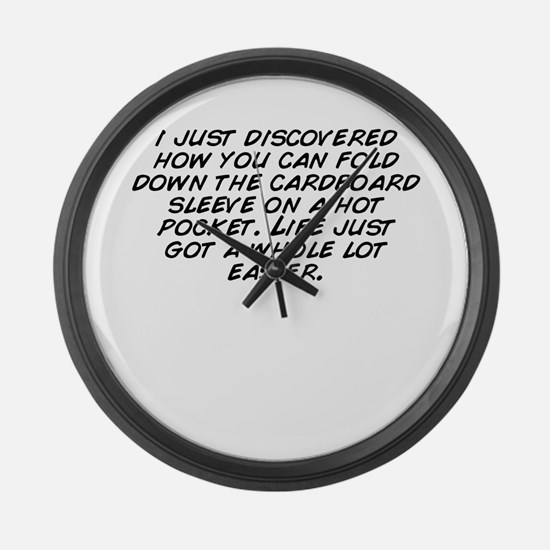 I%27m just not that into you Large Wall Clock