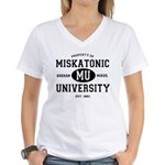 Miskatonic University Women's V-Neck T-Shirt