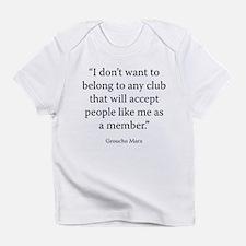Telegram to the Friars Club Infant T-Shirt