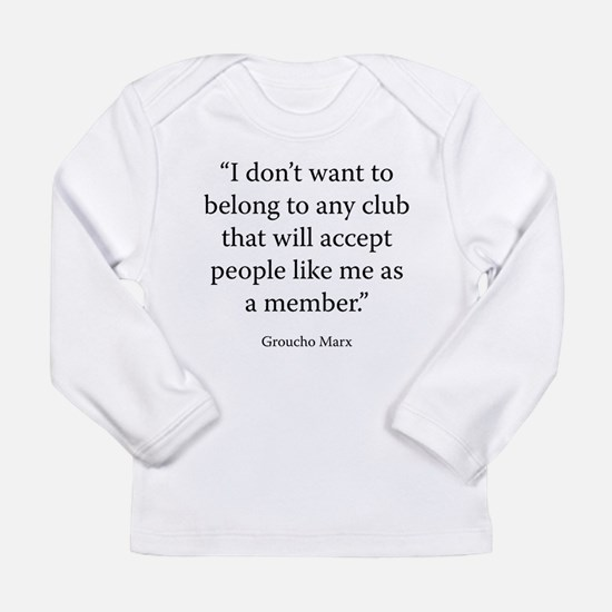 Telegram to the Friars Club Long Sleeve T-Shirt