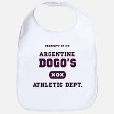 Argentine Dogo Bib