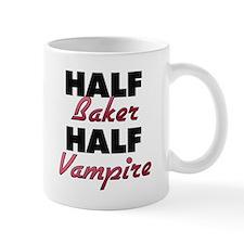 Half Baker Half Vampire Mugs