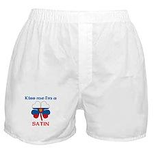 Satin Family Boxer Shorts