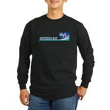 montegobaywavblk Long Sleeve T-Shirt