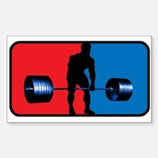 DEADLIFT Rectangle Bumper Stickers