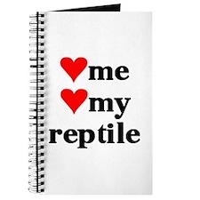 LOVE ME LOVE MY REPTILE Journal