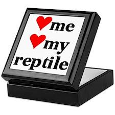 LOVE ME LOVE MY REPTILE Keepsake Box