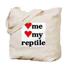 LOVE ME LOVE MY REPTILE Tote Bag