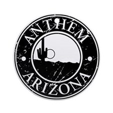 Anthem, AZ Ornament (Round)