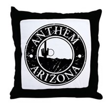 Anthem, AZ Throw Pillow