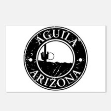Aguila, AZ Postcards (Package of 8)