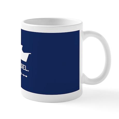 Diesel lover trawler mug