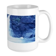 Blue Cascade Desk Set Mug