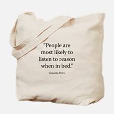 An Evening With Groucho Tote Bag