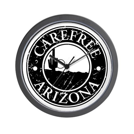 Carefree, AZ Wall Clock
