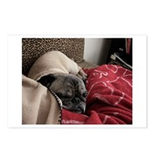 Pug Heart Postcards (Package of 8)