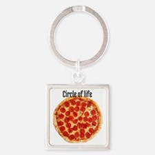 circle of life Square Keychain