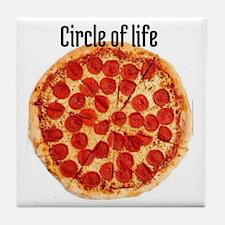 circle of life Tile Coaster