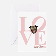 Pug Love V-Day Greeting Cards (Pk of 10)