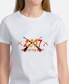 2007 year of the hunt Women's T-Shirt