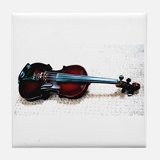 """Musical Instruments"" Tile Coaster"