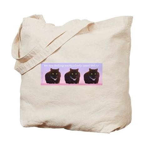 Sweet Kitty - Black CatsTote Bag