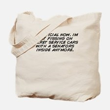 Secret service Tote Bag