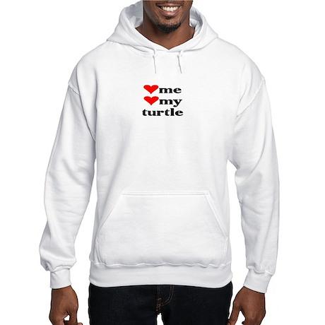 LOVE ME LOVE MY TURTLE Hooded Sweatshirt