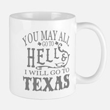 Go to Texas Mugs