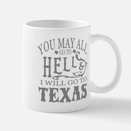 Go to Texas Mugs