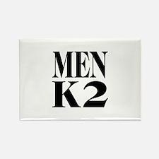 Men K2 Rectangle Magnet (10 pack)