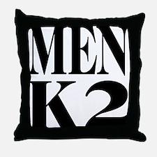 Men K2 Throw Pillow