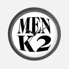Men K2 Wall Clock