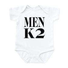 Men K2 Infant Bodysuit