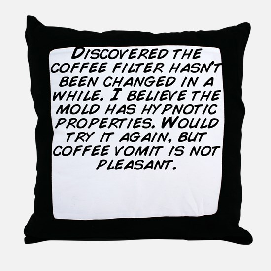 Funny Has been Throw Pillow