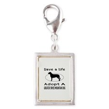 Adopt A Greater Swiss Mountain Dog Silver Portrait