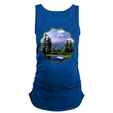 Mt Raineer National Park Maternity Tank Top