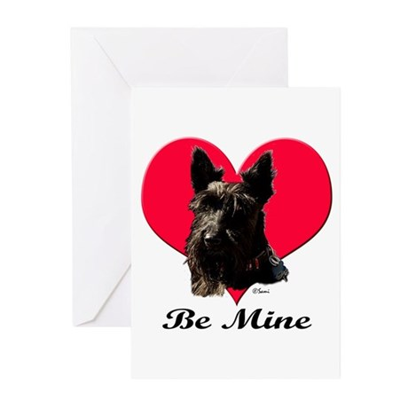 A Scotty Valentine Greeting Cards (Pk of 10)