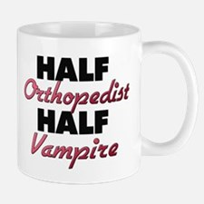 Half Orthopedist Half Vampire Mugs