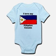 I Love My Filipino Cousin Body Suit