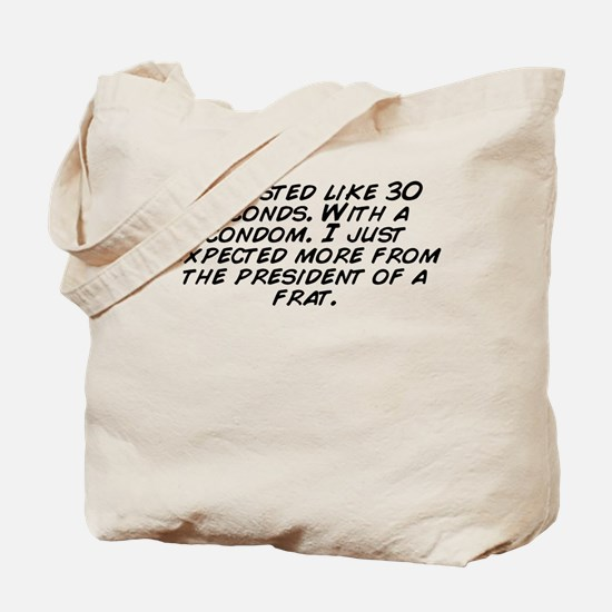 Funny I just like ignore things Tote Bag