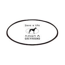 Adopt A Greyhound Dog Patches