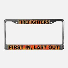 First/Last License Plate Frame