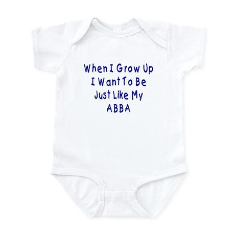 Just Like Abba Infant Bodysuit