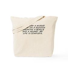 Unique Just ride Tote Bag