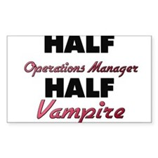 Half Operations Manager Half Vampire Decal