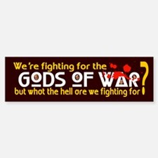 GODS OF WAR Bumper Bumper Bumper Sticker