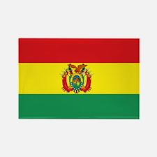 Bolivia flag Rectangle Magnet