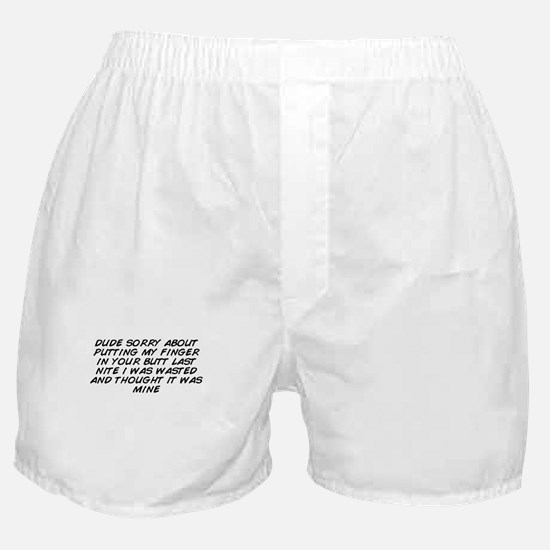 Dude Boxer Shorts